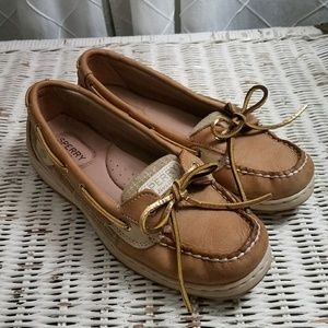 💛Gold Sperry Boat Shoes💛
